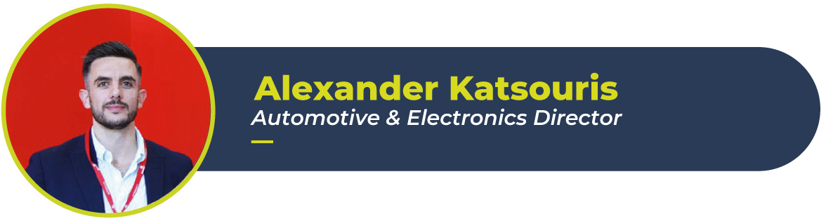 Alexander Katsouris picture. He is EP's director of the automotive vertical.